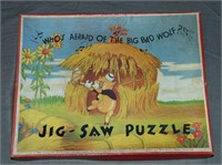 Three Little Pigs, Jig-Saw Puzzles, Chad Valley
