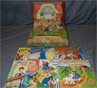 Mother Goose Playhouse, 8 Pop-Ups in Orig Box
