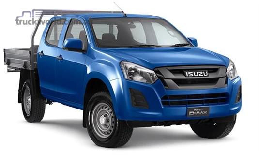 Isuzu UTE D-Max 4x2 SX Crew Cab Chassis High Ride