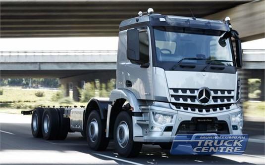 Mercedes Benz Arocs 3240 8x4 Rigid