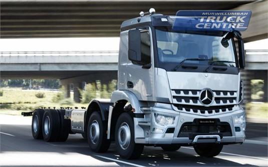 Mercedes Benz Arocs 3243 8x4 Rigid