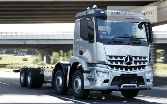 Mercedes Benz Arocs 3246 8x4 Rigid