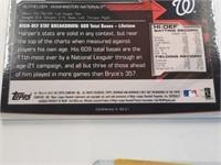 (3) Bryce Harper Baseball Cards