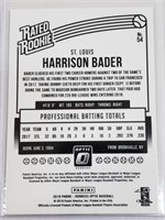 6 Harrison Bader Saint Louis Cardinals Cards W/