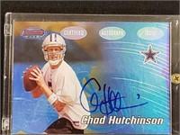 2002 Bowman Chad Hutchinson Autographed Card