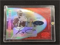 Quincy Carter Signature Game Worn Jersey Mirror