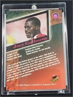 1995 Joey Galloway Autographed Card /4000