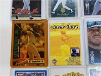 (20) MLB Player Cards Ripken, Grifey Jr., Martinez