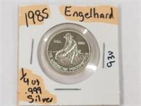1985 Engelhard 1/4 oz. .999 Silver
