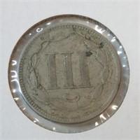 1865 3 Cent Piece