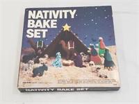 Vintage Nativity Bake Set