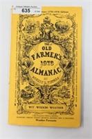 1978 Old Farmers Almanac By Robert Thomas