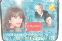 All My Children Fact Or Fantasy Card Game