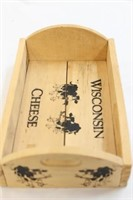 Dufeck Wooden Wisconsin Cheese Tray