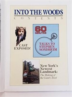 1980's Into The Woods Program Booklet