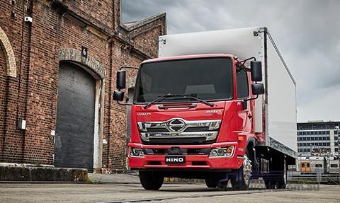 Hino 500 Series FG1628 Manual LWB