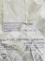 Vintage Green Waterproof Clothing Bag