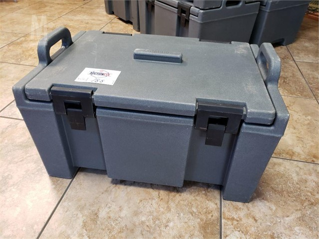 CAMBRO TOP LOADING INSULATED FOOD PAN CARRIER 在售的TYLER