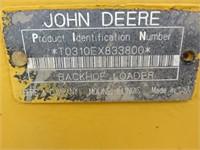 John Deere 310 E Backhoe