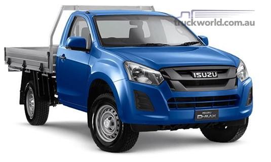 Isuzu UTE D-Max 4x2 SX Single Cab Chassis High Ride