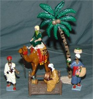 Four Feathers Figure Lot.