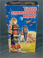 HD Space Commander Robot