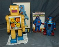 Boxed Russian & Korean Robots