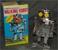 2 Boxed Japanese Robot Wind-Ups