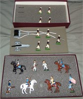 2 Boxed Modern Britains Soldier Sets