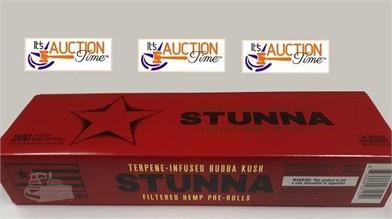 Stunna Hemp 1 Carton 10 Packs Bubba Kush Cigs Other Items