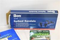 Soil Test Kit, Spiked Sandals etc.