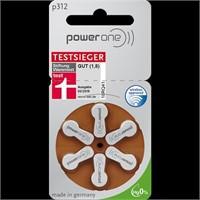 Powerone Testsieger Hearing Aid Batteries - 6