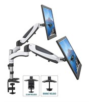 Fully Adjustable Dual Gas Spring LCD Monitor Arm
