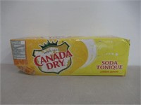 """""""As Is"""" Canada Dry Tonic Water 355 mL Cans, 12"""