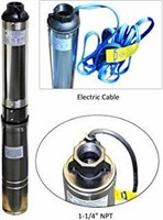 Hallmark Industries MA0460X-9A Deep Well Pump,