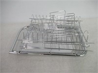 Multifunctional 3-Tier Dish Drying Rack, Stainless