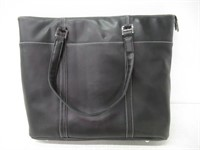 """As Is"" Mobile Edge METL01 Leather TechTote"