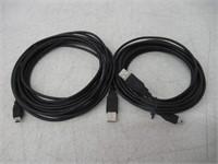 (2) C&E CNE75433 15-Feet USB 2.0 A Male To Mini-B