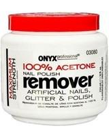 (2) Onyx Professional 100% Acetone Glitter &