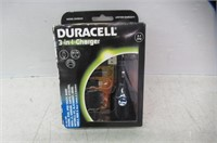 Duracell® DUX8224 3 In 1 Charger
