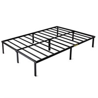 Metal Bed Frame Mattress Platform Foundation Heavy