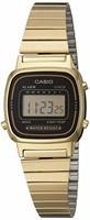 Casio Women's LA670WGA-1DF Daily Alarm Digital
