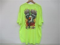 Cave Creek Men's 4XL 2018 Bike Week T-Shirt , Neon