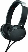 Sony Extra Bass Headphone (MDRXB550AP/B), Black