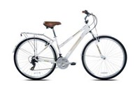 Northwoods Springdale 700c Cruiser Bike - White