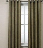 Reina 52x84 Panel Curtains - Green