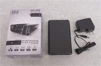 100 PERCENT MPU951BK Portable Charger with Outlet,