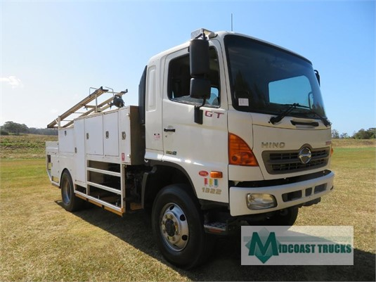 2012 Hino 500 Series 1322 GT 4x4 Midcoast Trucks - Trucks for Sale
