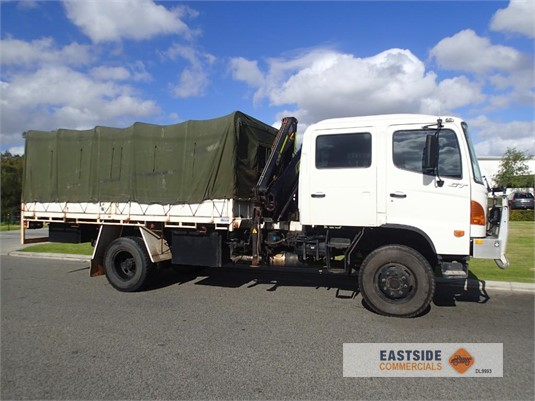 2006 Hino GT 1322 Crew Cab Eastside Commercials - Trucks for Sale
