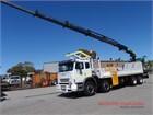 2008 Iveco Acco 8x4 Crane Truck